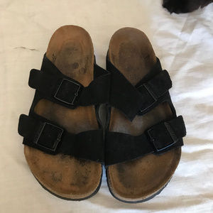Birkenstock Arizone Suede Sandals